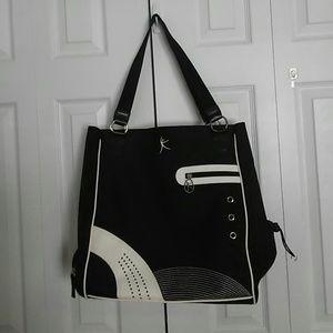 Danskin women's canvas tote bag